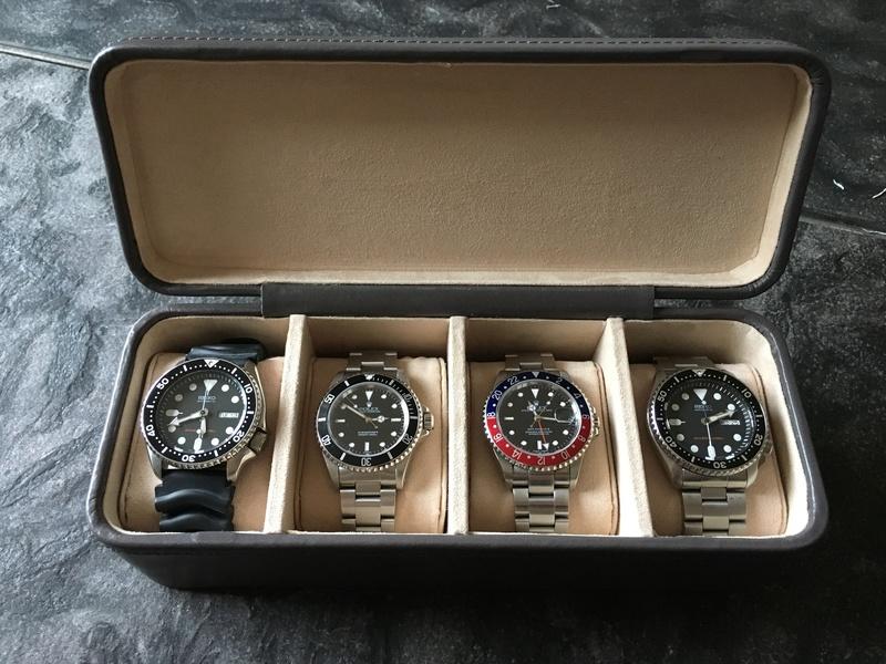 [SUJET UNIQUE] écrin, boîte ou coffret pour ranger les montres... tome II Img_2910