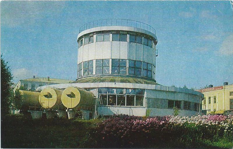 Deux cartes postales de la fabrique Tchaïka R210