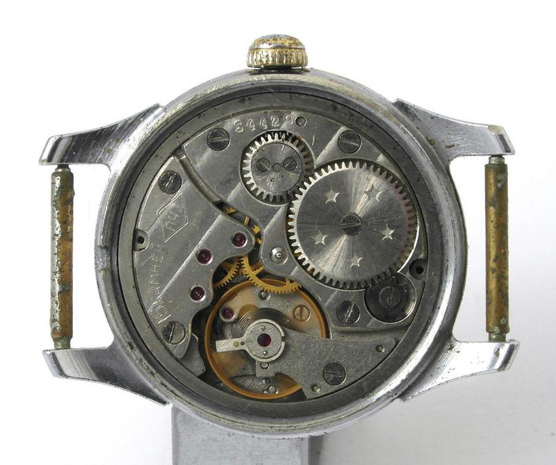Les calibres de la Fabrique de montres de Petrodvorets S-l16014