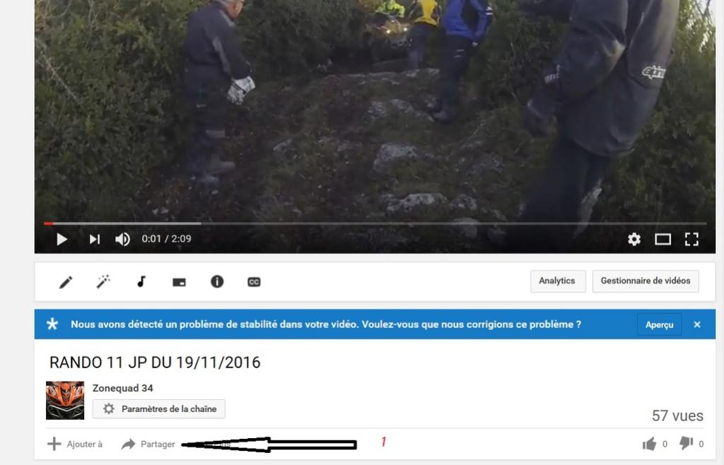 comment inserer les videos sur le fofo  4011