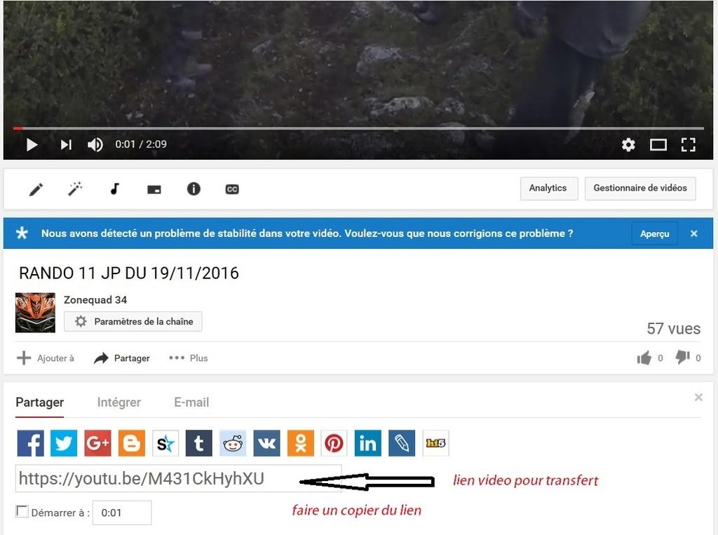 comment inserer les videos sur le fofo  4111