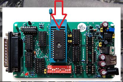 Utilisation d'un programmateur EPROM Prog10