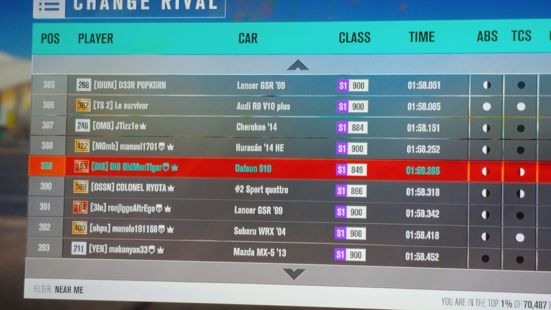 (FH3) RWD/FWD Restricted Jungle Coast Trail! (Results Up!) 20161113