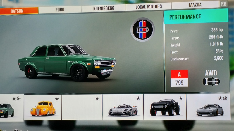 (FH3) Leaderboard Attack #5 RESULTS UP Lb5_110