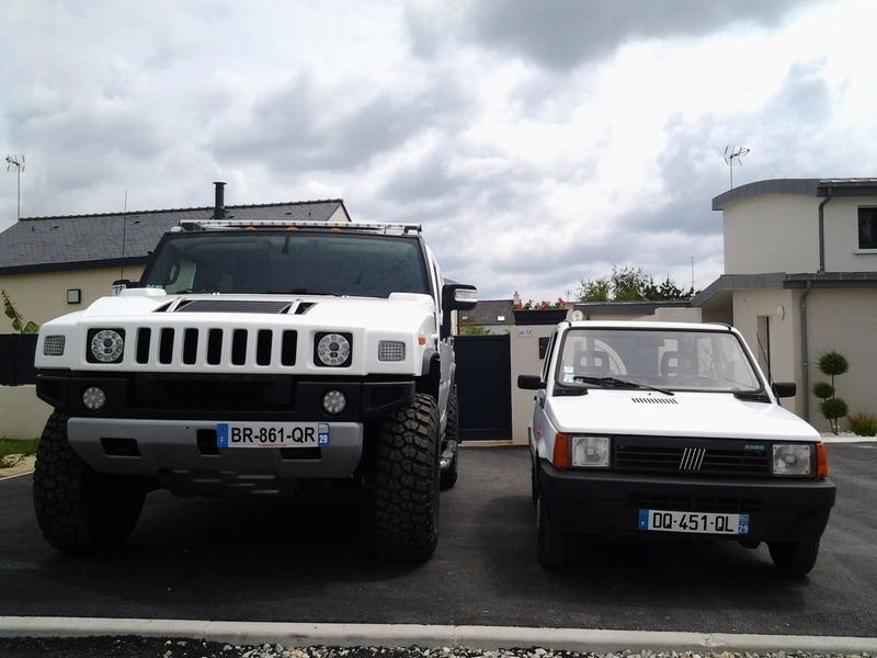 Hummer H2,  gros ou!!!   comparaison... 20150510