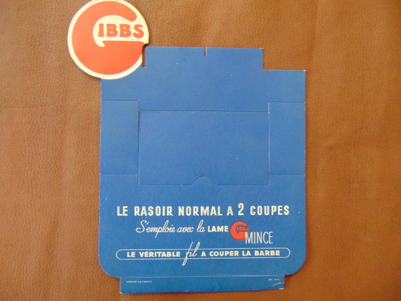 Lames de rasoir GIBBS et produits de la marque - Page 2 Dsc05211