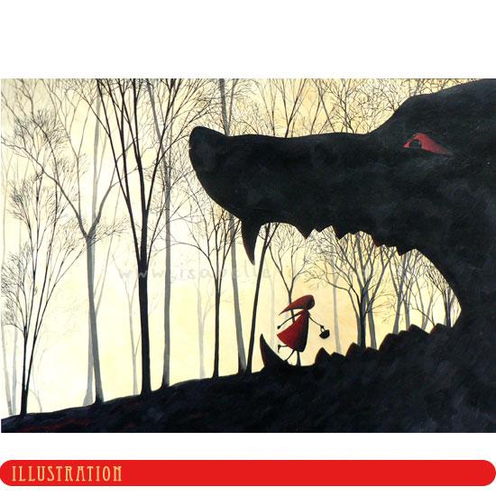 La véritable histoire du Petit Chaperon Rouge en images Nouvel10