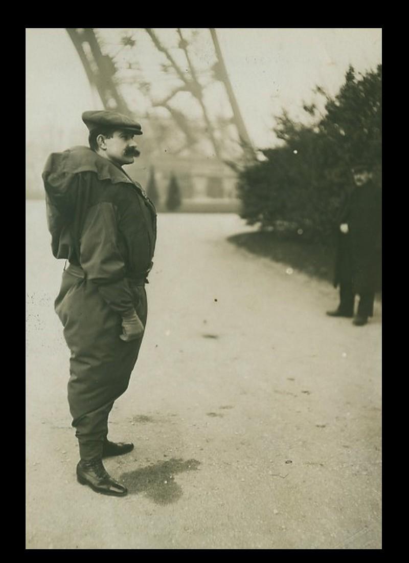 Histoire de Franz Reichelt qui sauta de la Tour Eiffel le 4 février 1912   714