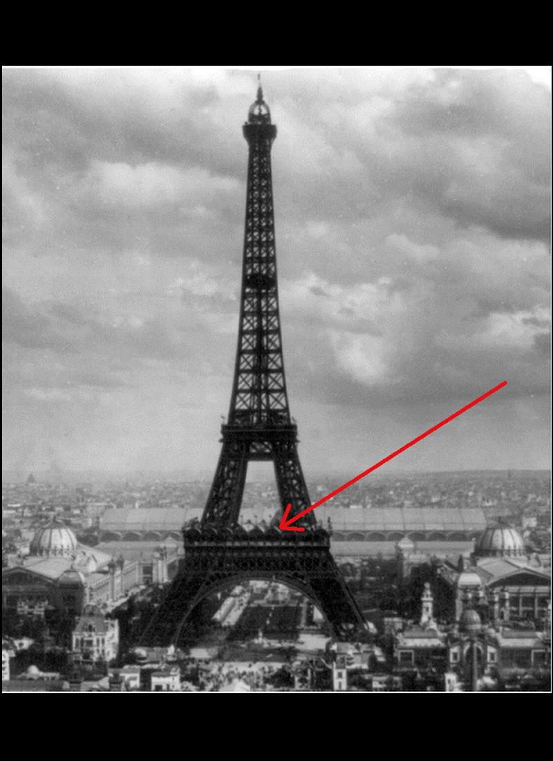 Histoire de Franz Reichelt qui sauta de la Tour Eiffel le 4 février 1912   715