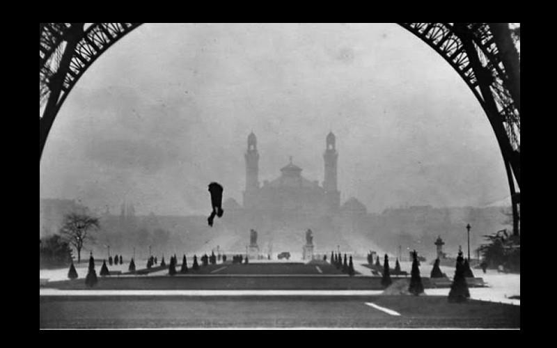 Histoire de Franz Reichelt qui sauta de la Tour Eiffel le 4 février 1912   716