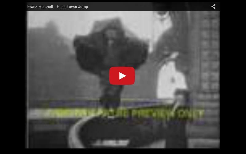 Histoire de Franz Reichelt qui sauta de la Tour Eiffel le 4 février 1912   718