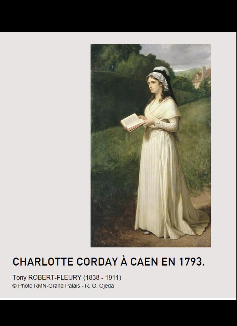 Charlotte Corday 1793 la kamikaze assume tout  B12