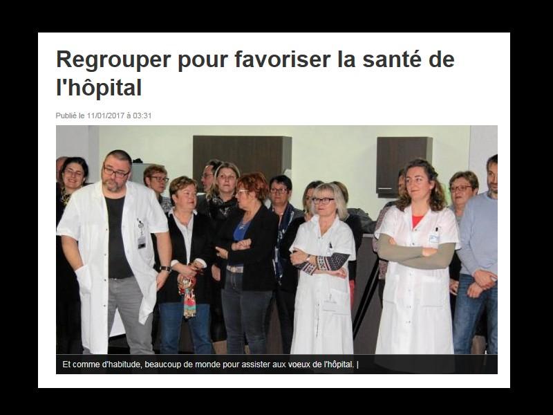 Regrouper pour favoriser la santé de l'hôpital D17