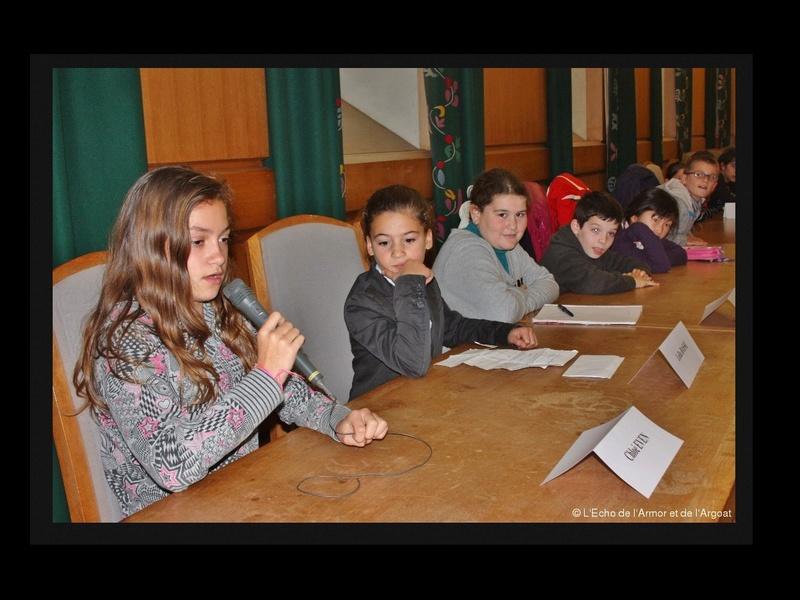 Conseil municipal des enfants : ce que veulent les gamins de Guingamp Sans_203