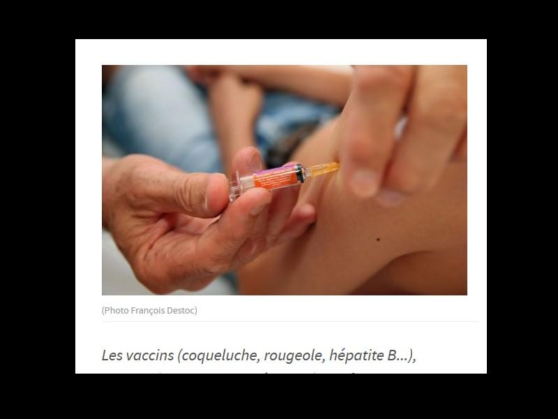 Vaccins pour enfants. Bientôt gratuits et obligatoires ? Sans_258