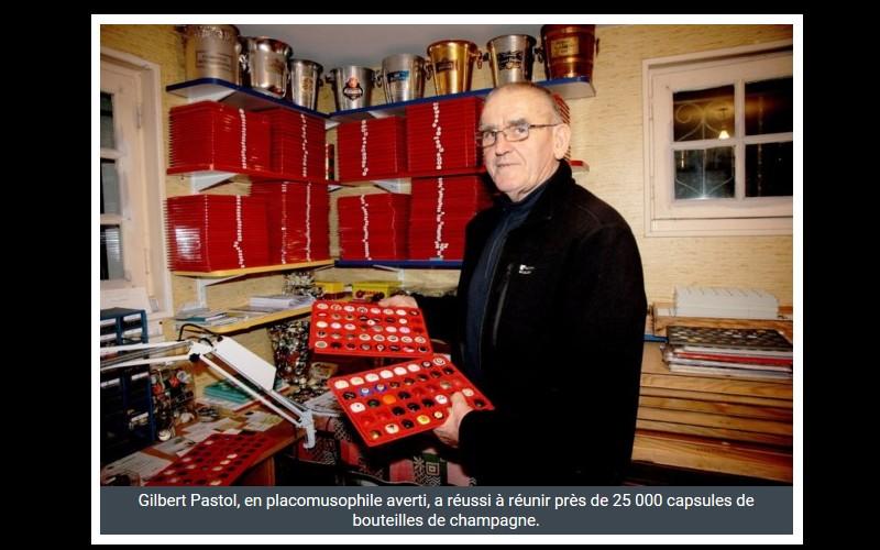 A Guingamp, Gilbert Pastol possède 25 000 capsules de champagne ! Sans_353