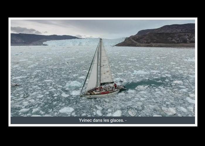 PAIMPOL  /   Bientôt sur Thalassa. Un Paimpolais filme l'aventurier Guirec Soudée au Groenland Sans_390