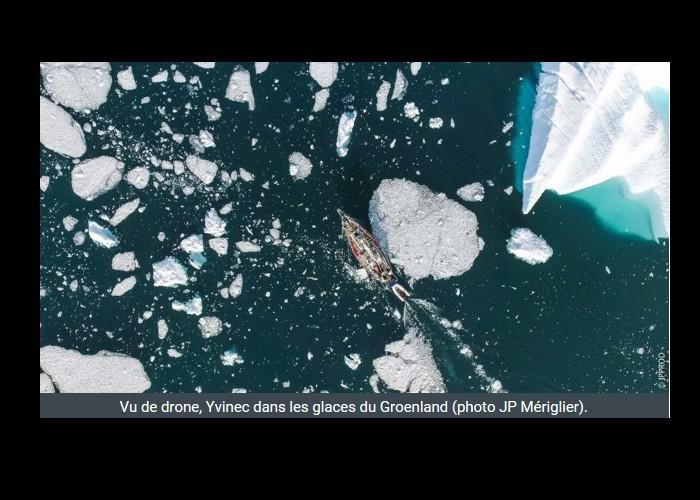 PAIMPOL  /   Bientôt sur Thalassa. Un Paimpolais filme l'aventurier Guirec Soudée au Groenland Sans_392
