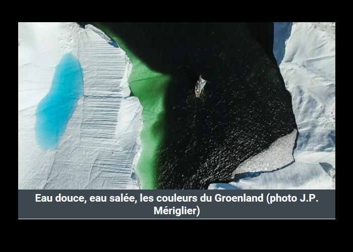 PAIMPOL  /   Bientôt sur Thalassa. Un Paimpolais filme l'aventurier Guirec Soudée au Groenland Sans_394