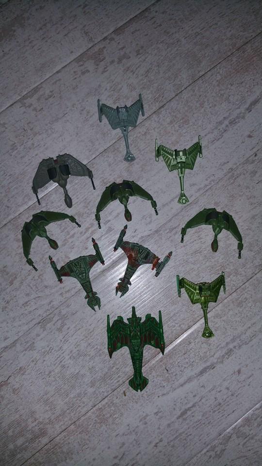 Großes Attack Wing Set! Feds, Klingonen, Mirror und Bioschiffe zum Verkauf 13413010