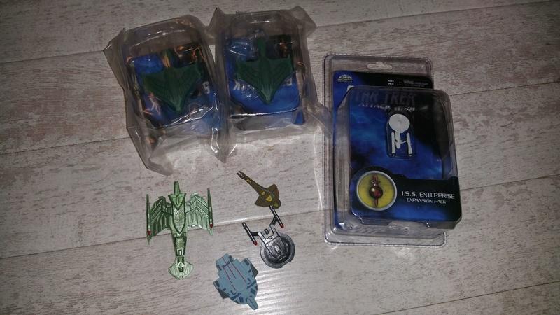 Großes Attack Wing Set! Feds, Klingonen, Mirror und Bioschiffe zum Verkauf 13418410