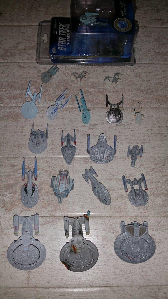 Großes Attack Wing Set! Feds, Klingonen, Mirror und Bioschiffe zum Verkauf 13418610