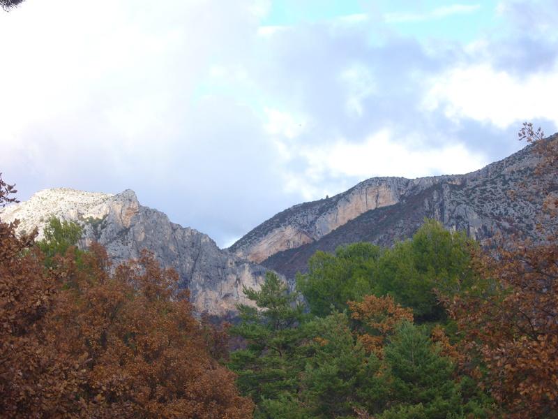 L'entrée des Gorges du Verdon P1030925