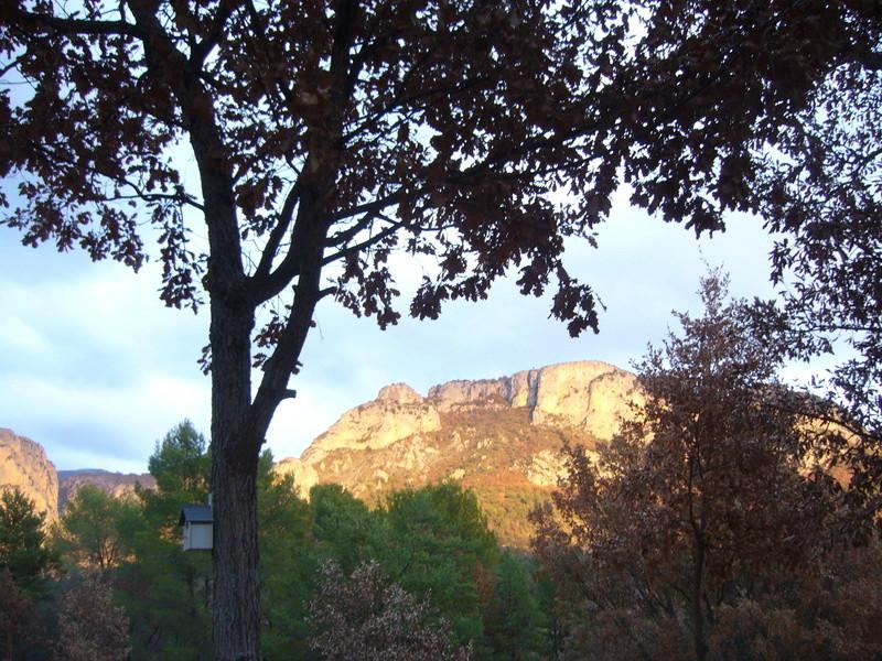 L'entrée des Gorges du Verdon P1040030