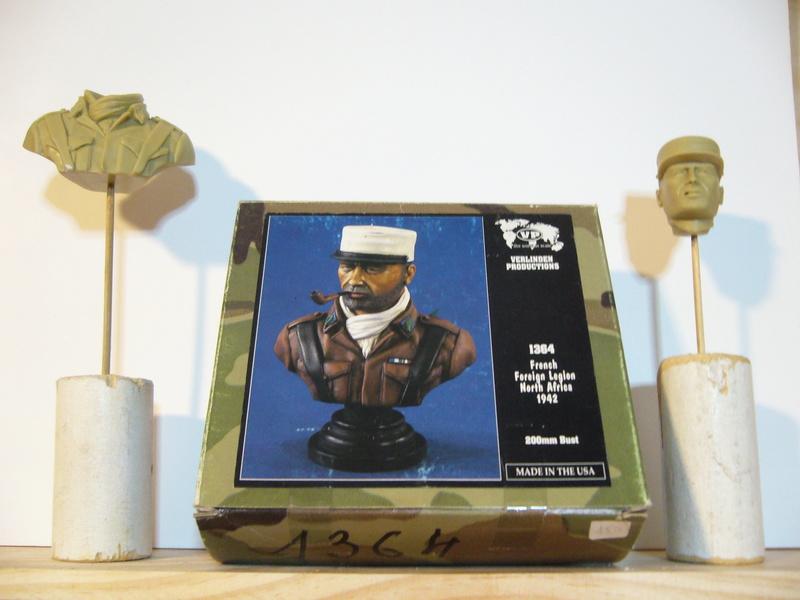 Légion étrangère, Afrique du Nord 1942, Verlinden 200mm, acryliques. P1040114