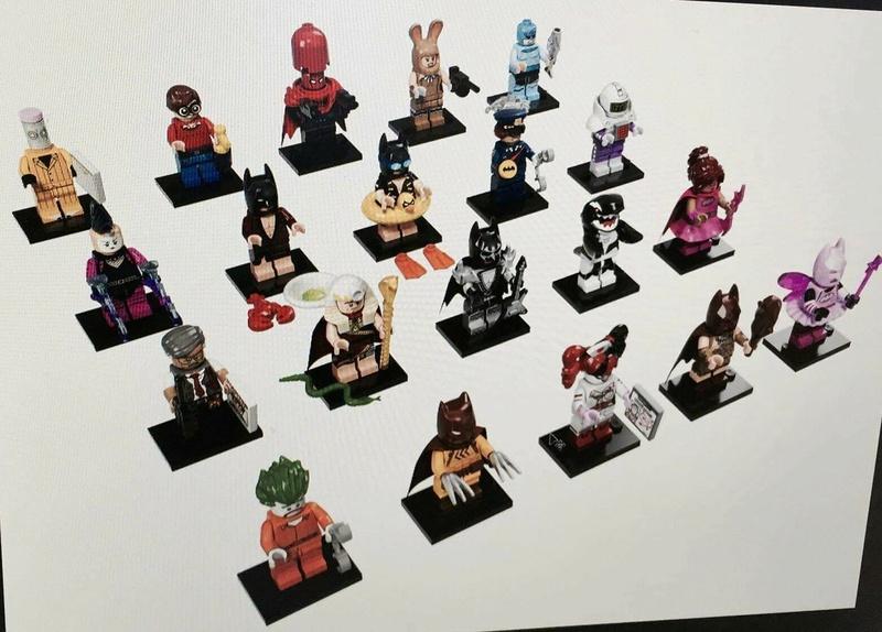 Batman Movie Collectible Minifigures 15167610