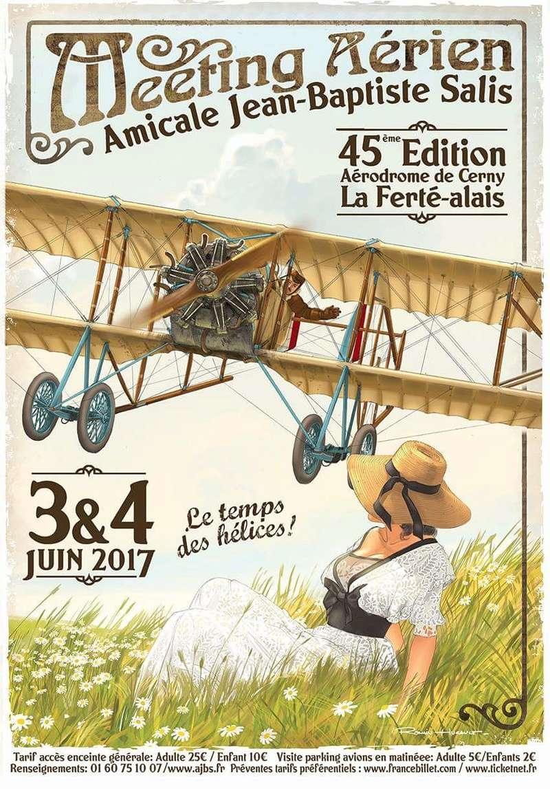 R.HUGAULT : ses affiches des meeting aériens de la Ferté-Allais Image165