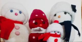 Calendrier de l'Avent 6 décembre - Bonhomme de neige Bonhom10