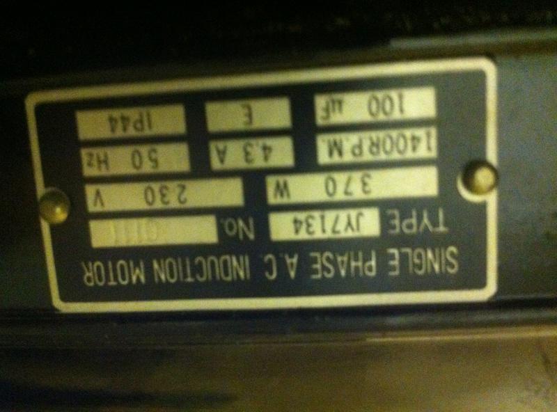 variateur de fréquence pour moteur monophasé à condensateur Img_1322