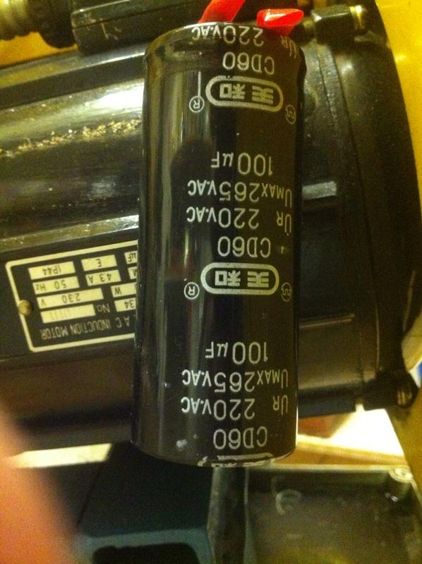 variateur de fréquence pour moteur monophasé à condensateur Img_1323