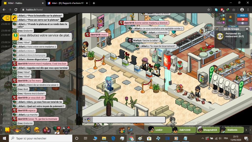 [R.] Rapports d'actions RP de :.:kilari:.: Clem210
