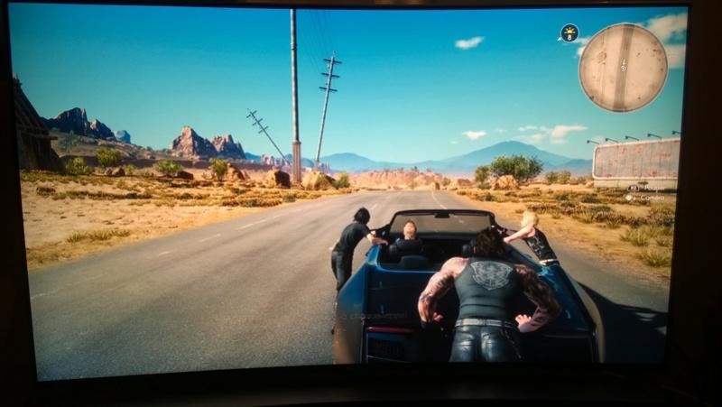 TV 4K/HDR pour PS4 Pro et Xbox One S : vos tests et avis Ff_xv_10