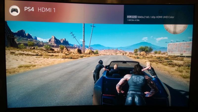 TV 4K/HDR pour PS4 Pro et Xbox One S : vos tests et avis Ff_xv_11