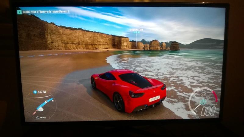 TV 4K/HDR pour PS4 Pro et Xbox One S : vos tests et avis Forza_10
