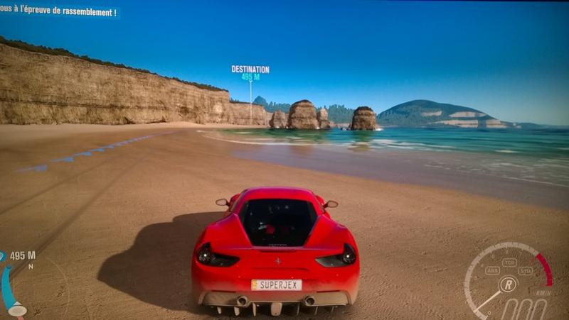 TV 4K/HDR pour PS4 Pro et Xbox One S : vos tests et avis Forza_11