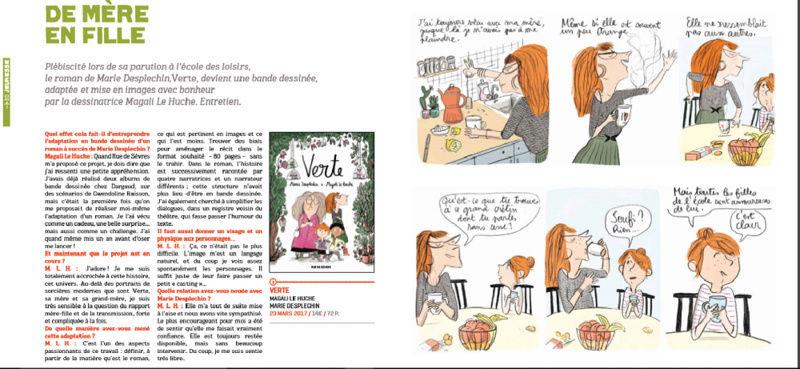 Verte, l'adaptation en BD du roman de Marie Desplechin Verte10
