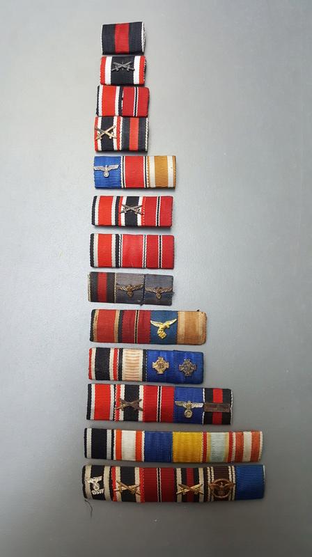 Vos barrettes & rappels de décorations - médailles 20161222