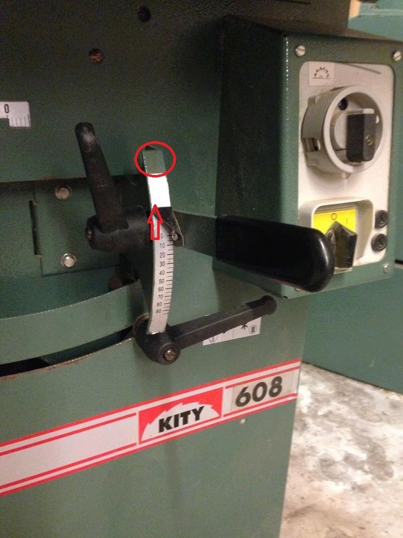 Kity 608 sortie de lame Img_1110