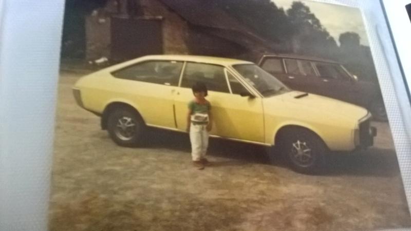 photo de la r 15 ts du papa a nico 44 ,en 1987 avec ma petite soeur  Wp_20111