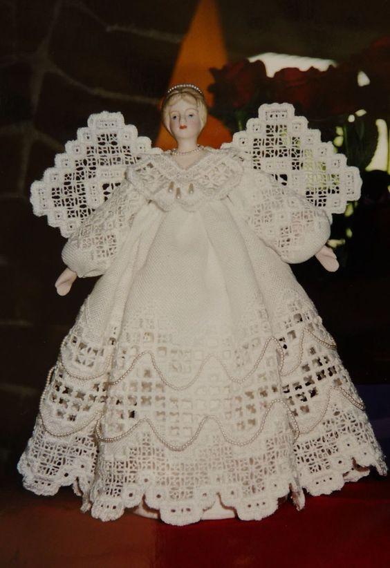 Bricolage de Noël Angel210