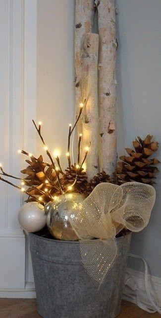 Bricolage de Noël Bucket10
