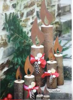 Bricolage de Noël - Page 3 Candel10