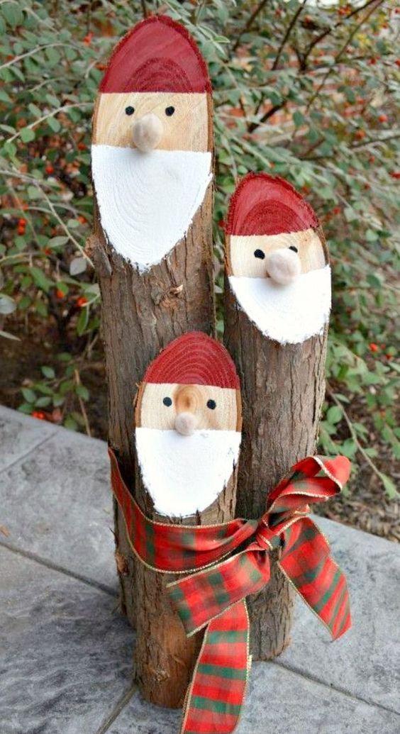 Bricolage de Noël Santa10