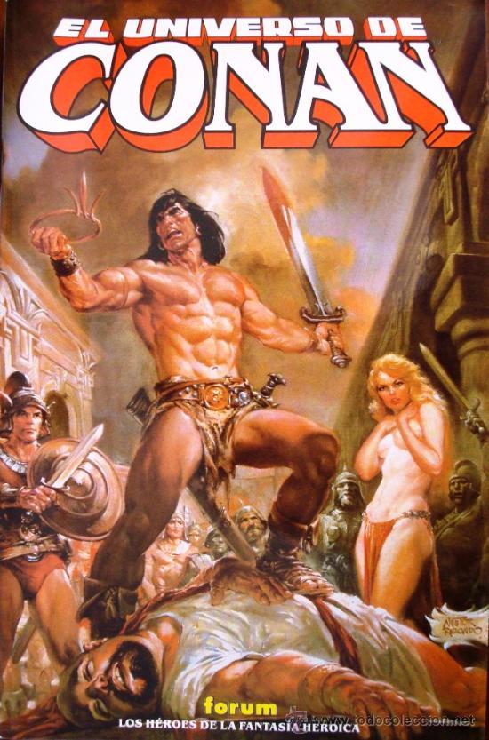 Guías y libros enciclopédicos sobre Conan 20978810