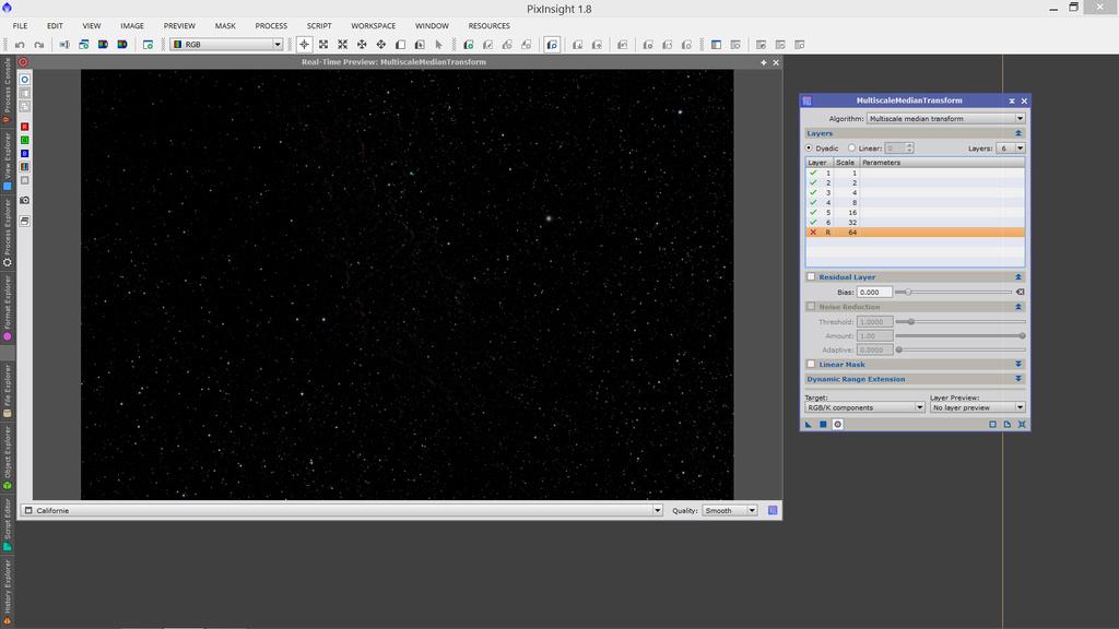 Isoler les étoiles et l'objet sous PixInsight Sans_t10