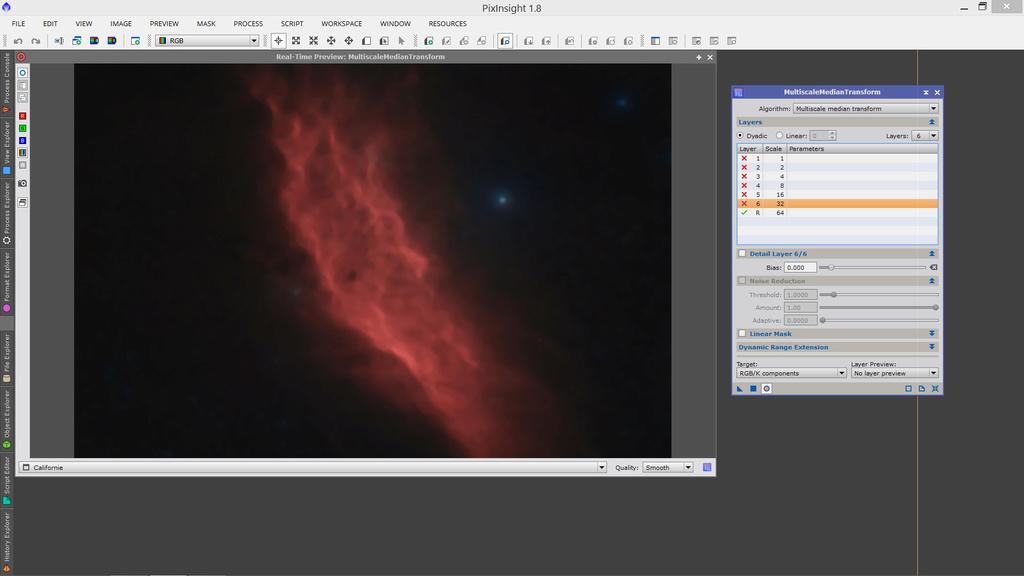 Isoler les étoiles et l'objet sous PixInsight Sans_t11